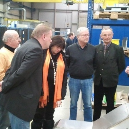 Besuch der Firma Weber in Breidenbach