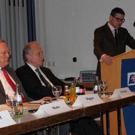 Innenminister Boris Rhein in Gladenbach