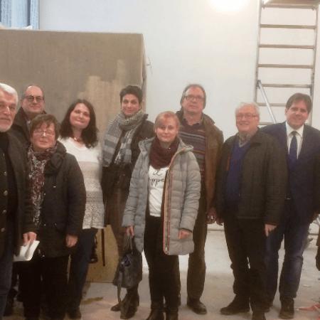 Der Arbeitskreis Schule besucht die Waldschule Stadtallendorf
